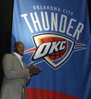 NBA: les Sonics de Seattle deviennent le Thunder d'Oklahoma