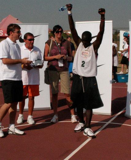 Thierno Ibrahima NIANG MVP de la NBA Basketball Without Border Africa 2008