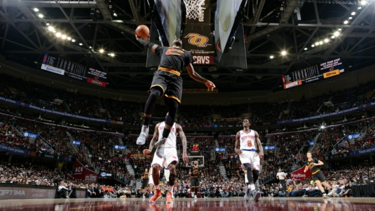 NBA 2016-2017: LeBron James réussit son 43e triple double et les Cavaliers battent les Knicks 117-88