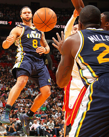 NBA  9 nov 2010 - Les Utah Jazz s'imposent à Miami avec un énorme Millsap