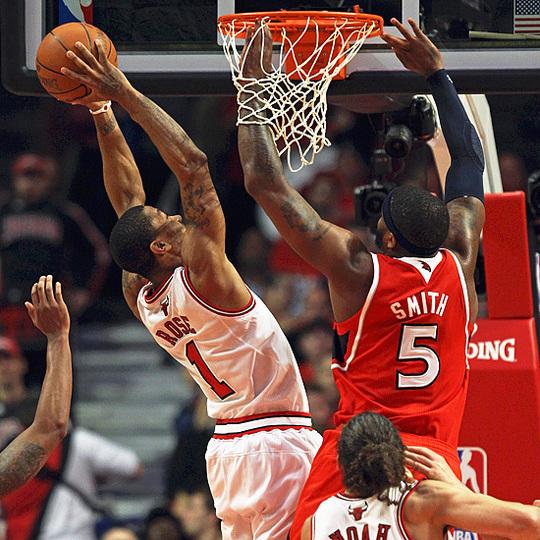 NBA - Play-offs/2e tour: Chicago reprend l'avantage grâce à Rose