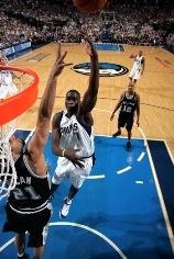 Desagana DIOP match 6 contre les Spurs