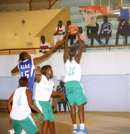 1/4 Coupe du Sénégal (filles) :SLBC, JA, Bopp, DUC qualifiés en demi-finale