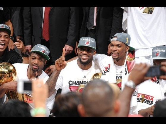 "NBA-Finale - Miami champion, le ""Big Three"" tient sa revanche"