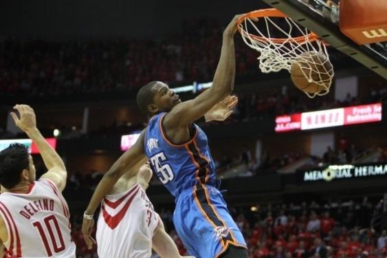 Kevin Durant (Oklahoma) - photo NBA