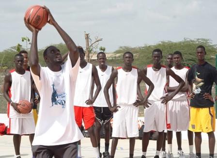Basket- 2e édition Camp Pointe Sarène : Les études d'abord et le basket après !
