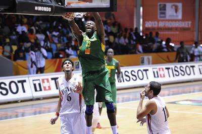 Afrobasket Masculin (20-31 août 2013) : Victoire aux forceps des « lions » devant l'Egypte