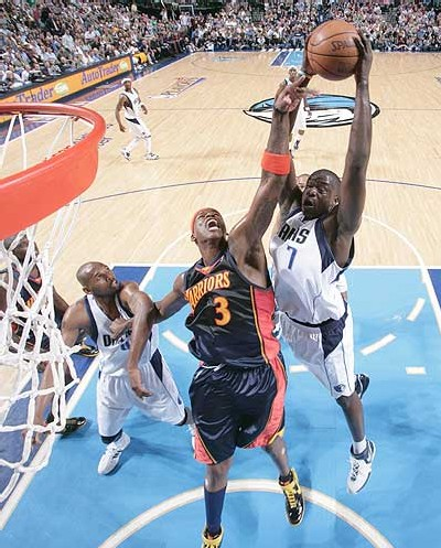 Desagana DIOP  allant au panier pour un dunk - photo NBA