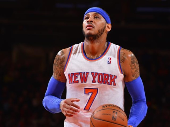 NBA : (VIDEO) Carmelo Anthony marque 62 points avec les Knicks contre Charlotte (125-96)