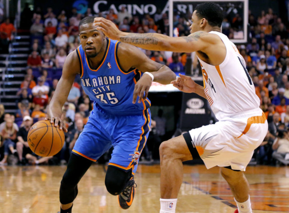 NBA - Kevin Durant dépasse Michael Jordan