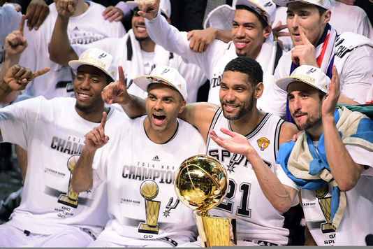 NBA - Les San Antonio Spurs Champion NBA 2014