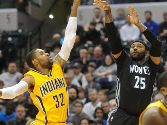 NBA Un Mo Williams record (52 pts) , Gorgui Dieng (10 pts, 10 rbds, 6 passes, 3 interceptions et 2 contres)