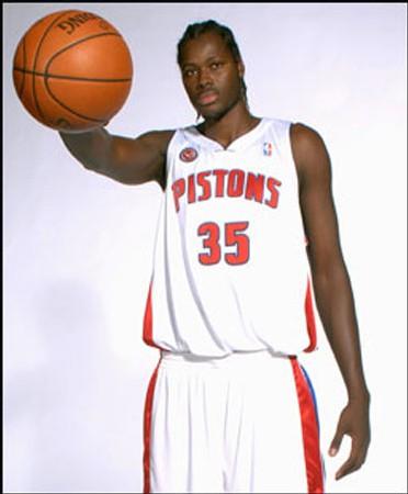 Cheikh Samb - Detroit Pistons (photo NBA)
