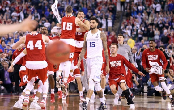 BASKET NCAA FINAL FOUR : COUP DE TONNERRE, KENTUCKY TOMBE !!!!