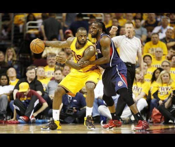 GAME 3: NBA - Finale de conférence Est: LeBron James porte Cleveland à bout des bras