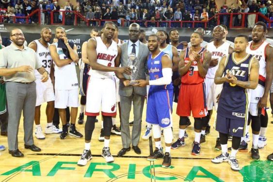 NBA AFRICA GAME: La team World s'impose 101 à 97