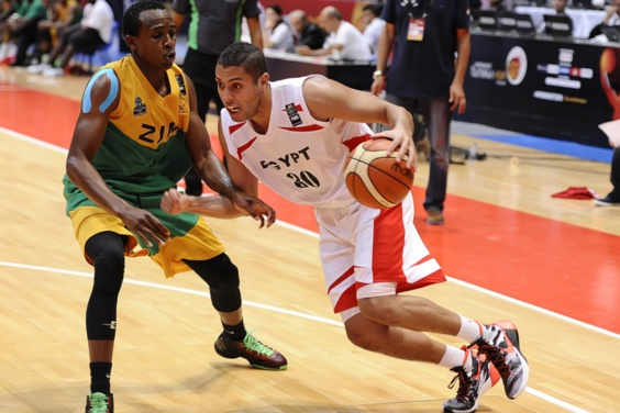 L'Egypte domine le Zimbabwe et se qualifie pour les quarts de finale de l'AfroBasket 2015