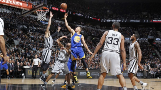 NBA: Les Warriors s'inclinent à San Antonio