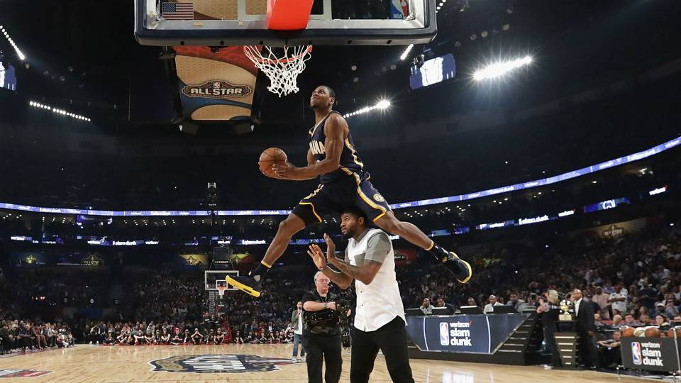 NBA ALL-STAR GAME SATURDAY:Glenn Robinson III remporte une concours de dunk de faible niveau