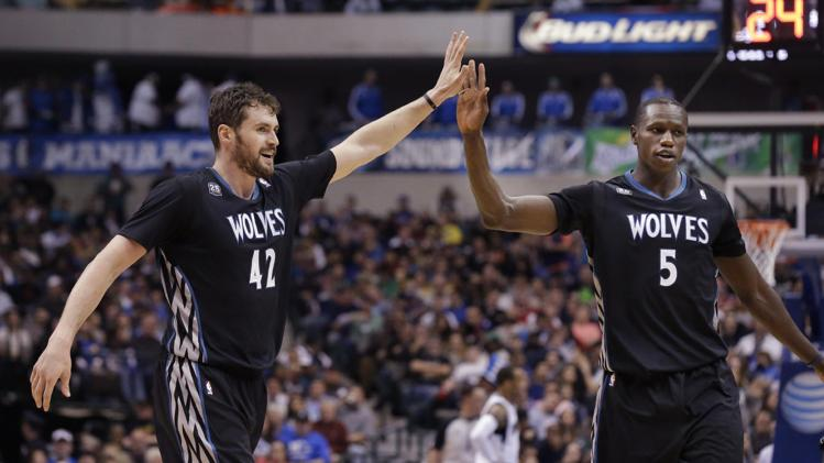 Minnesota vs Dallas (123-122): Gorgui Dieng en Double Figure et Ricky Rubio en Triple