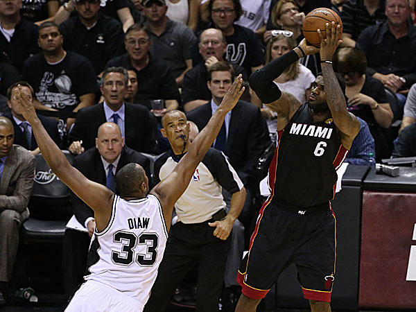 NBA - Finale: LeBron James prend sa revanche, Miami égalise