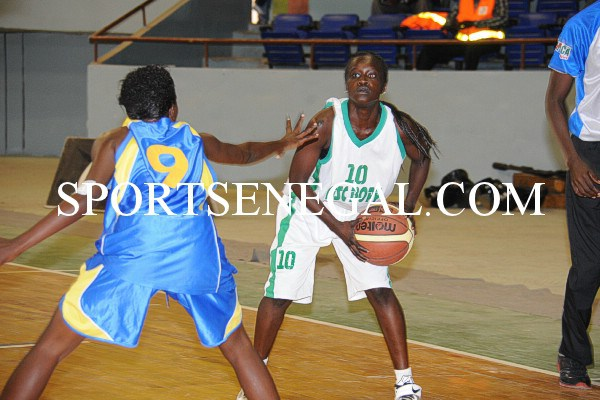 ¼ de finale Coupe du Sénégal (Dames) : BOPP tombe les armes à la main