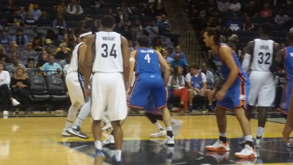 Nba Presaison: Memphis s'offre le Thunder 94-78!!!!