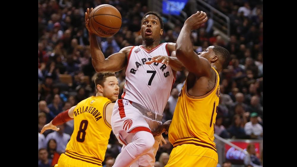 """NBA RESULTATS DE LA NUIT : Toronto surpasse """"King James"""" et Cleveland"""