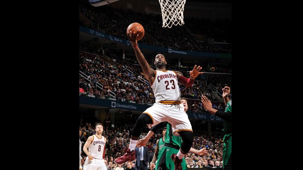 NBA RESULTATS DE LA NUIT :Les Cavaliers assomment les Celtics