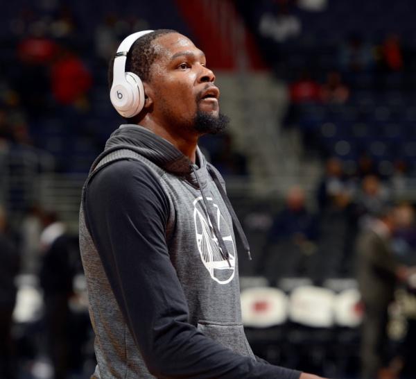 NBA:Kevin Durant de retour au jeu samedi