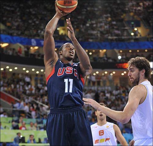 JO 2008 Basket HOMMES: Les 8 quart de finalistes connus