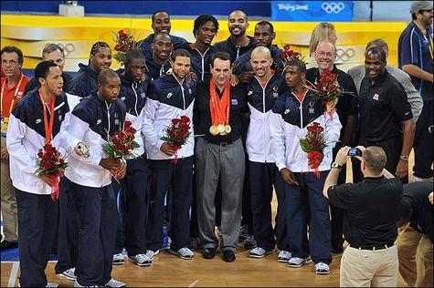 JO-2008 - Finale - Espagne-Etats-Unis 107-118 : Premier titre depuis huit ans pour les Américains