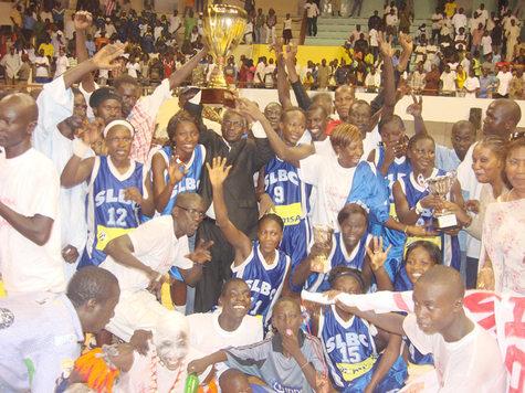 COUPE DU SENEGAL -Saint Louis Basket Club enfin et avec la manière !