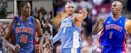 NBA : Cheikh Samb transféré au Denver Nuggetset Iverson passe aux Pistons