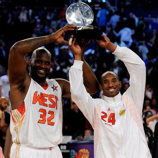 ALL STAR GAME 2009: Comme au bon vieux temps - Kobe et Shaq MVP