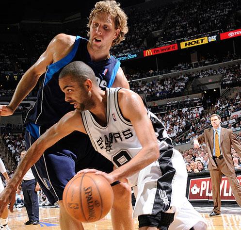 NBA PLAYOFFS 2009- Parker atomise Dallas