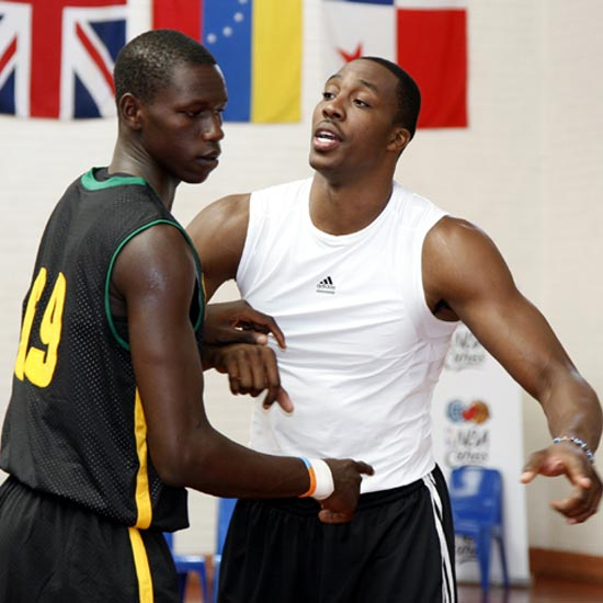 NBA BASKETBALL WITHOUT BORDERS : Gorgui Sy Dieng sacré meilleur joueur (MVP)