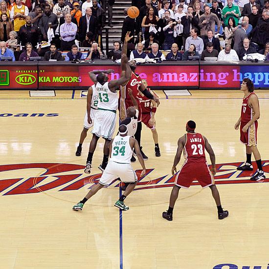 (VIDEO) - NBA: Début de la Saison 2009-2010 Boston annonce la Couleur