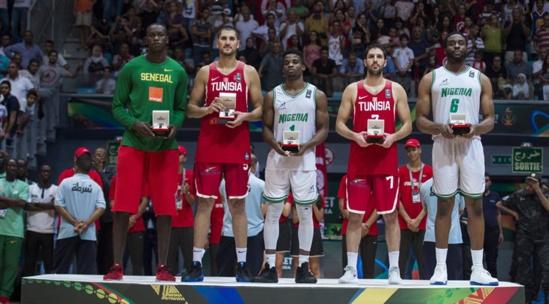 "AFROBASKET HOMMES 2017 :Dieng et Diogu dans le ""5 majeur"" du FIBA AfroBasket 2017"