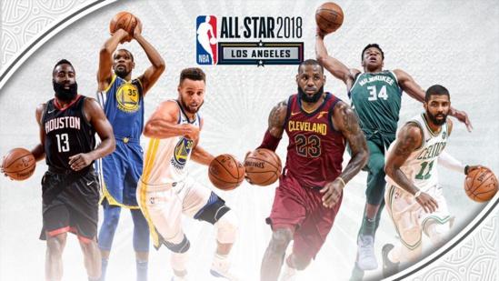 """NBA ALL STARGAME 2018 : La liste des """"starters"""" avec Joel Embiid pour son premier All Star"""