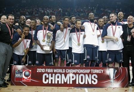 Mondial 2010 - Les Etats-Unis, rois du monde