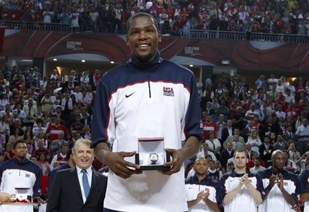 Mondial 2010 - Durant MVP