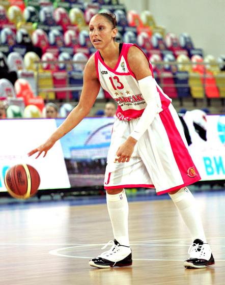 Diana Taurasi contrôlé positive en Turquie