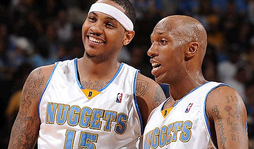 Transfert/NBA -  Carmelo Anthony et Chauncey Billups aux New York Knicks