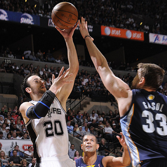 NBA Play-offs/1er tour - Matches N.2 :Merci Ginobili !