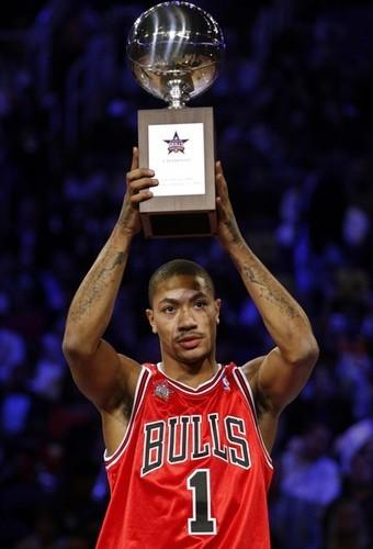 NBA - Derrick Rose meilleur joueur (MVP) de la saison