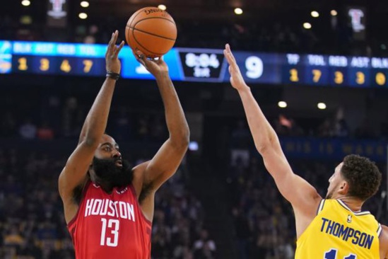 NBA : Harden offre à Houston le choc face à Golden State