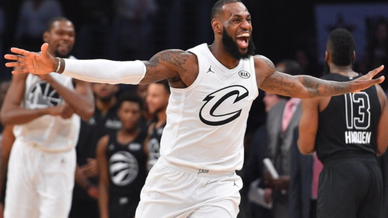 ALL STAR GAME 2018 : LeBron James remporte son 3 eme titre de MVP