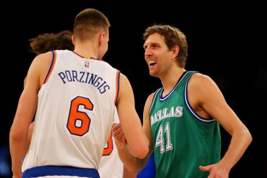 NBA:New York envoie Kristaps Porzingis à Dallas