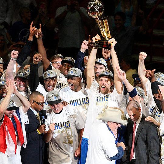 NBA FINALS  - Dallas, comme dans un rêve , Champion NBA